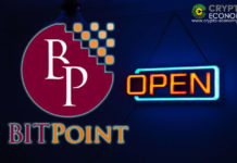 Bitpoint to Resume Operations One By One Starting Today August 6th