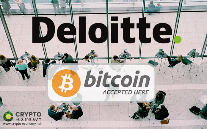 deloitte bitcoin