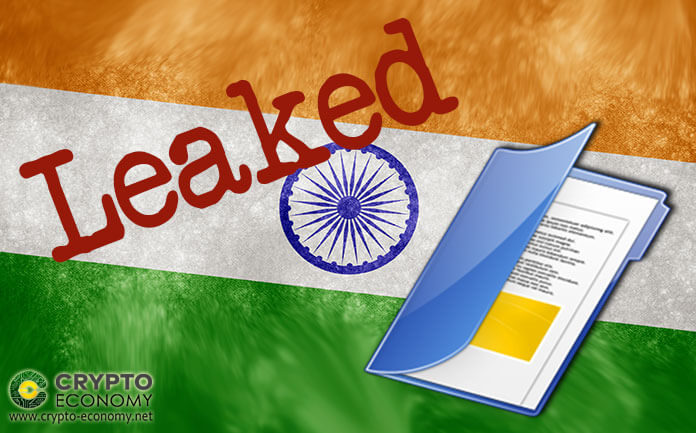 Unconfirmed bill that seeks to ban the use of cryptocurrencies in India is leaked