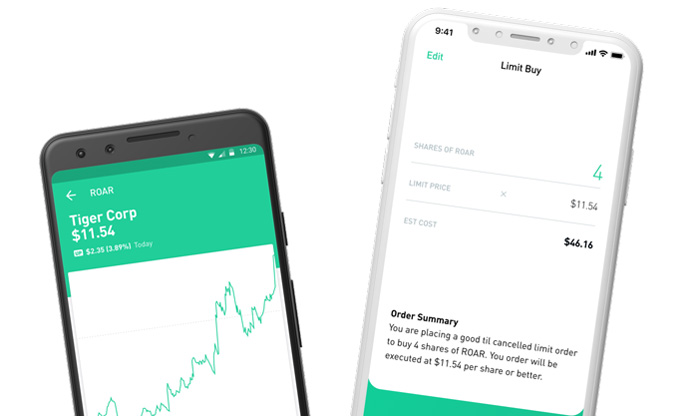 Stocks and cryptocurrency trading platform Robinhood