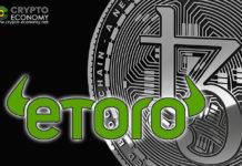 Tezos (XTZ) is now available for trading on eToro