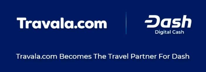 travala.com y dash