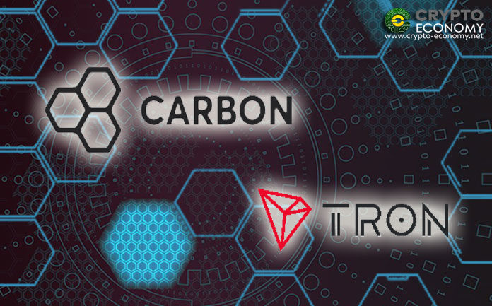 Carbon Activates Credit and Debit card Purchases for Tron's TRC20 Based Tokens