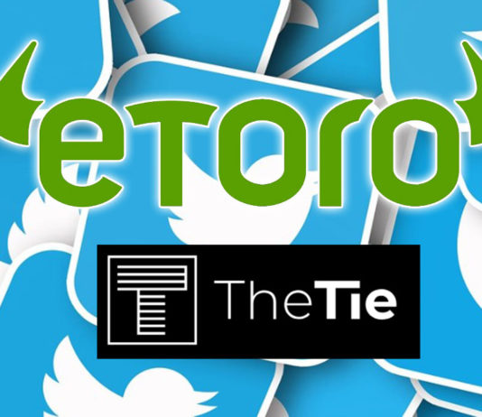 Social Trading Platform eToro Partners with The TIE to Launch a Twitter Sentiment-Driven Investment Strategy
