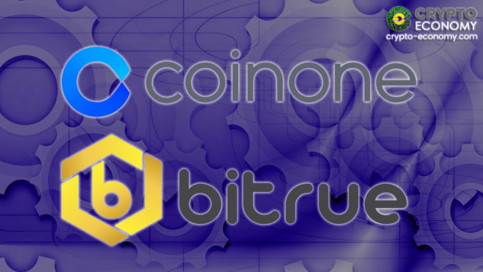 South Korean Exchange Coinone Signs a Technical Memorandum of Understanding (MoU) with Singapore-Based Bitrue