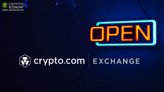 Hong Kong-Based Crypto.com Launches its New Cryptocurrency Exchange in Beta