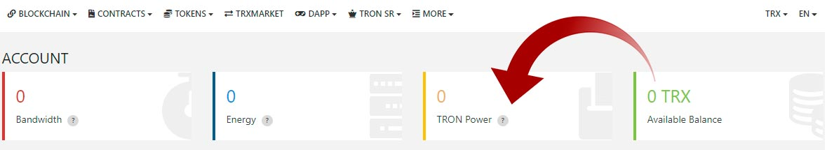 tron-to-tron-power-tronscan