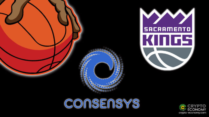 The NBA's Sacramento Kings Collaborates With Consensys to Launch an Ethereum-Based Spots Gear Auction Platform