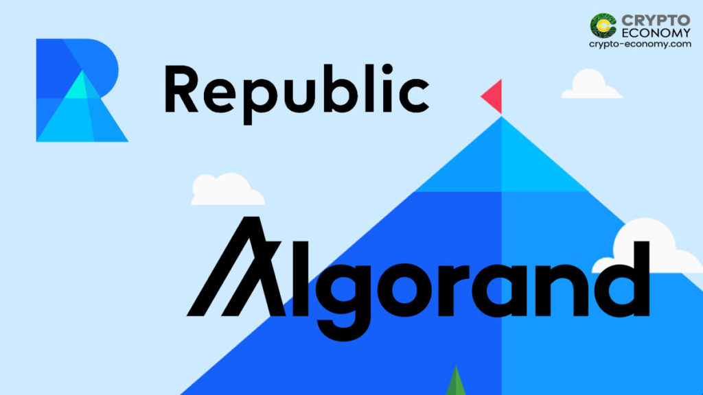 Private Investing Platform Republic to Build First-in-Class Digital Asset on Algorand Blockchain