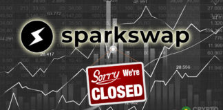 Atlanta-Based Crypto Exchange SparkSwap Closing its Doors Citing Low Audience on The Platform