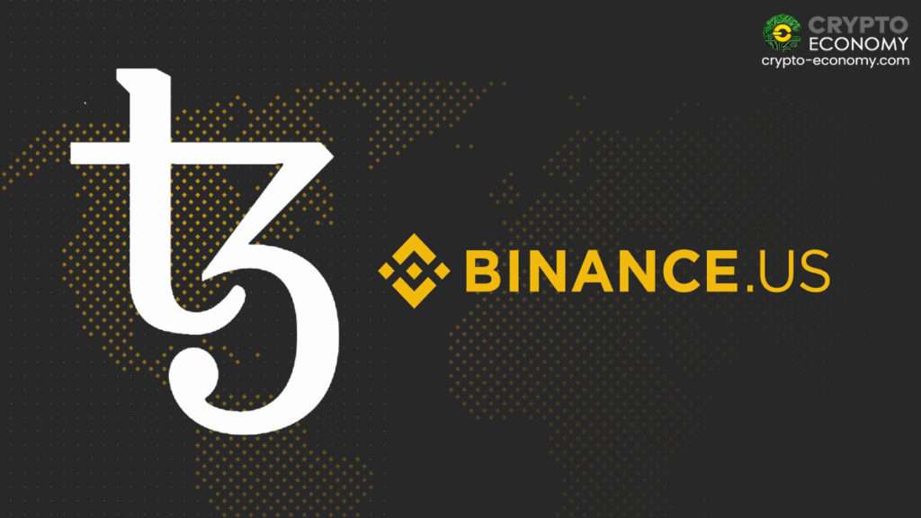 Binance will add Tezos to its listing in the US platform
