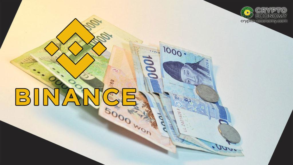 Binance Issues BKRW stablecoin pegged to Korean Won