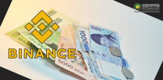 Binance Issues BKRW stablecoin pegged to Korean Won
