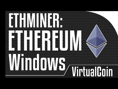 Ethereum-mining software ethminer