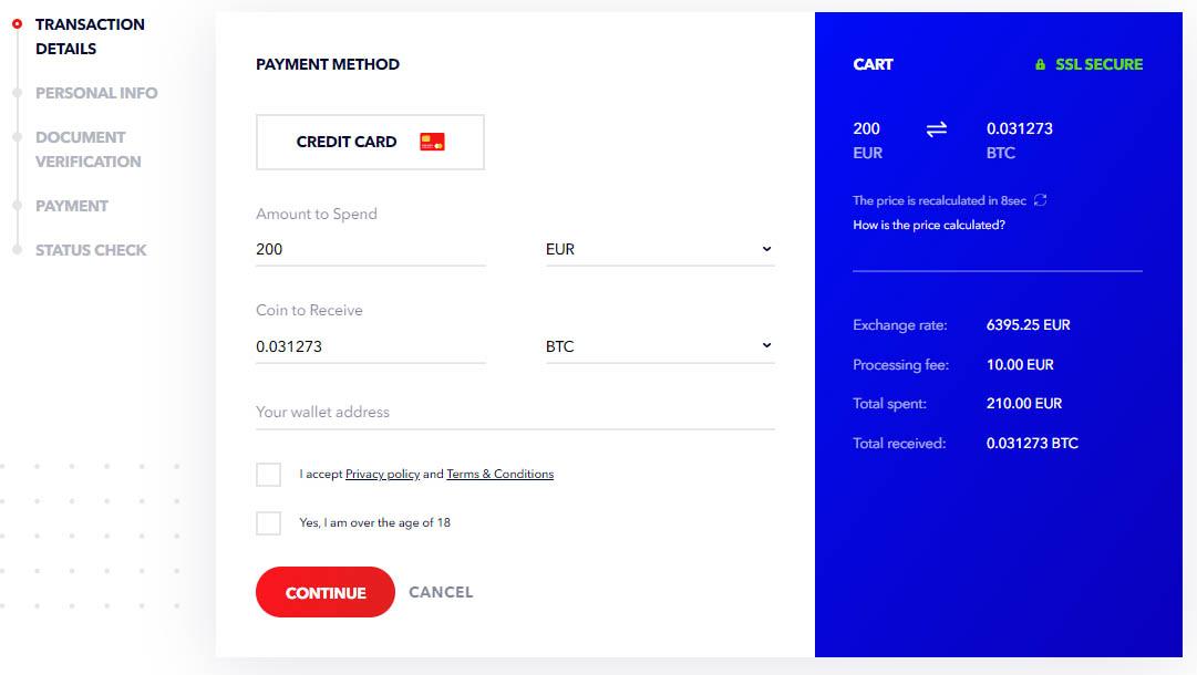 wisenex payment method
