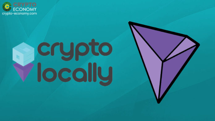 Peer-To-Peer Crypto Trading Platform CryptoLocally Adds Support For Tron's TRX