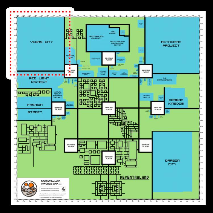 decentraland map