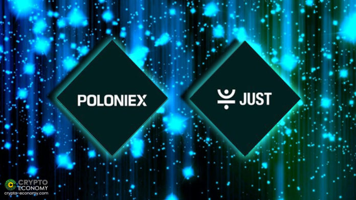 Poloniex LaunchBase Completes Its First Ever JUST (JST) Token Sale And Will Open Trade For JST/TRX on May 7th