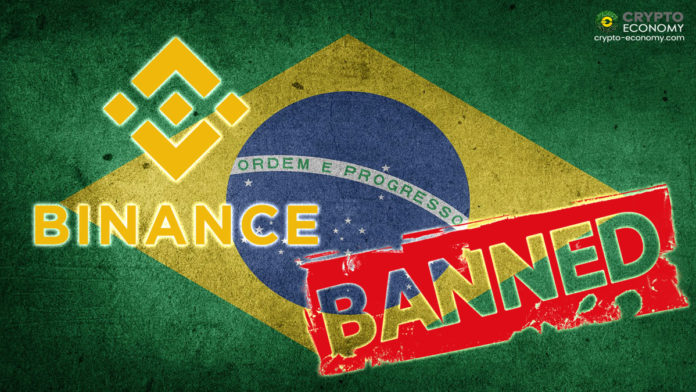 Binance Exchange Barred From Offering Crypto Derivatives Products in Brazil