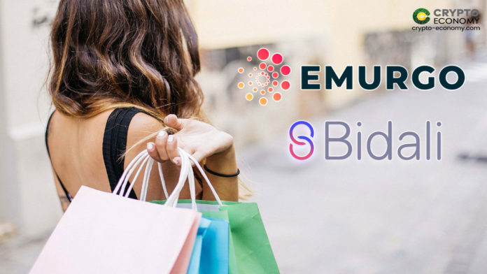 Emurgo's partners with Bidali Enables ADA Holder to Purchase Item from Major Retail Brands