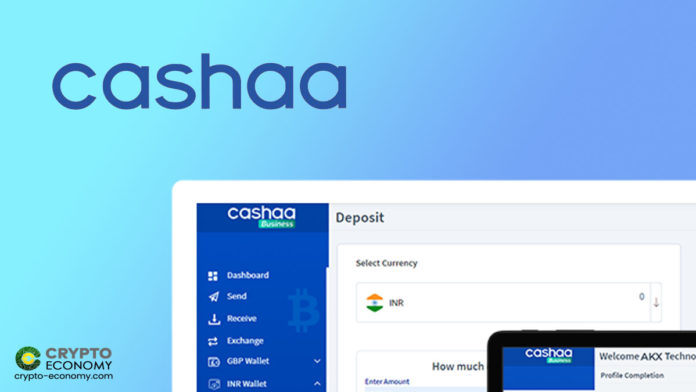 Major Indian Bank Partners With Cashaa to Offer Cryptocurrencies