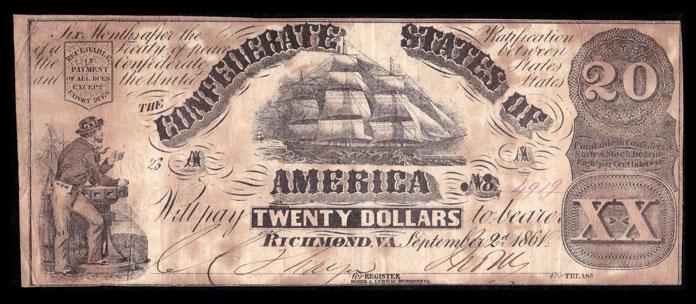 1861 dollar