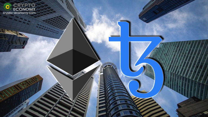 Ethereum and Tezos are selected for an experimental interbank digital currency project