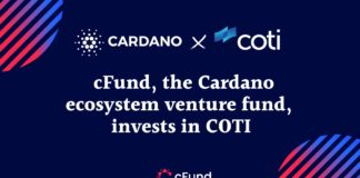 Cardano-Backed cFund Announces $500K Support For COTI Network