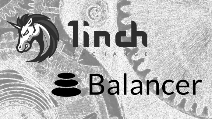 1inch Network Integrates Balancer V2 Programmable Liquidity Protocol