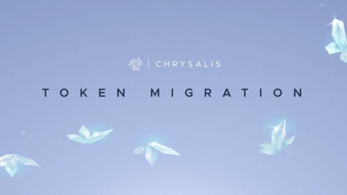 The Chrysalis Token Migration Officially Started on IOTA