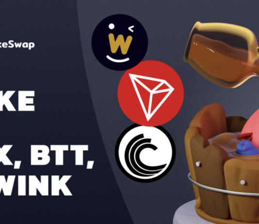 PancakeSwap Adds TRON, WINkLink and BitTorrent to Syrup Pool