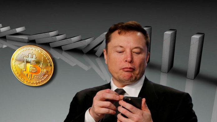 Bitcoin Dives Below $45K After Elon Musk Hints a Bitcoin Dump