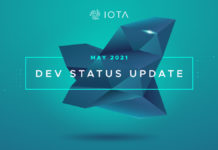 IOTA Published May 2021 Dev Status Update