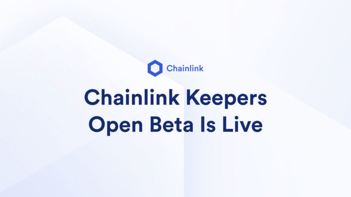 Chainlink Keepers Open Beta Launched; Serving Smart Contract DevOps