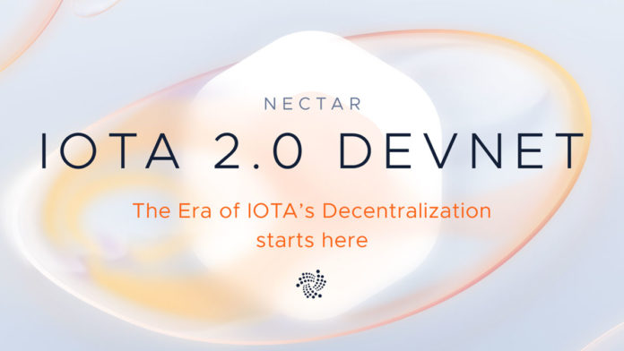 IOTA Foundation announced the launch of Nectar, fully named IOTA 2.0 DevNet. It's the first version of the IOTA network without a Coordinator.