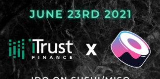 iTrust to Run IDO on SushiSwap's MISO Launchpad