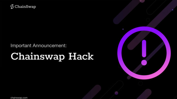 ChainSwap Launches Compensation Package After Suffering $8M Exploit