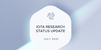 IOTA Published Research Status Update for July 2021