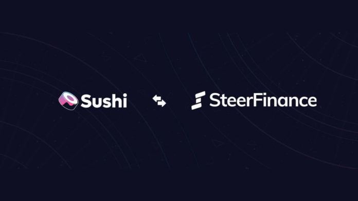 Steer Finance is Sushi Incubator's First Project