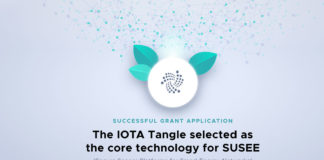 SUSEE Selected IOTA Tangle to Manage Large Scale Sensor Networks