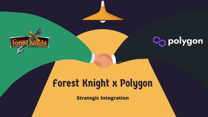 Forest Knight Blockchain game Integrates with Polygon